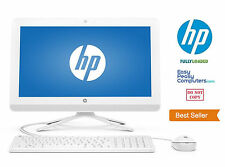NEW HP All in One Desktop Computer Windows 10 WiFi DVD 4GB 500GB (FULLY LOADED)