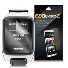 5X EZguardz Screen Protector Cover Shield HD 5X For TomTom Runner 2 GPS Watch