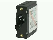 BLUE SEA SYSTEMS MAGNETIC CIRCUIT BREAKER 25 AMP 7216 BLACK SINGLE POLE AC/DC