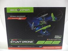 Sky Viper Stunt Drone RC transmitter (requires four AAA 1.5V batteries, not incl