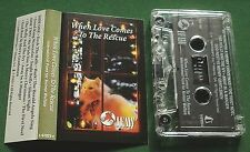 When Love Comes to The Rescue Christmas Carols IFAW Cassette Tape TESTED