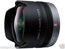 (NEW other) PANASONIC LUMIX G FISHEYE 8mm F3.5 H-F008 (8 mm F/3.5) Lens*Offer