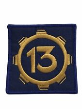 Fallout Video Game Vault 13 Logo Embroidered Patch