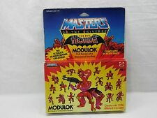 MOTU,Vintage,MODULOK, Masters of the Universe,MISB,MOC,He man,figure,sealed