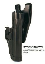 New! Blackhawk Level 2 SERPA Black Duty Holster Right Beretta 92/96 44H004BK-R
