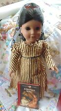 """American Girl Pleasant Company Josefina 18"""" Doll, Box Holiday Outfit Gently Used"""