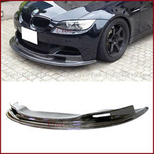 Carbon Fiber AK2 Look Add-On Lip Wing For BMW 08-13 E90 E92 E93 M3 Front Bumper