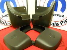 Dodge Durango Front & rear black molded splash guards guard mud flap flaps Mopar