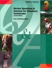 Review Questions and Answers for Veterinary Technicians 2nd Edition, Book Only