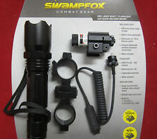 Swamp Fox TLP001  Flash Light and Laser Sight with Case