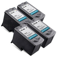 4 PK Canon PG40 PG-40 CL41 CL-41 Black Color Ink Cartridge iP1800 iP2600 MP140