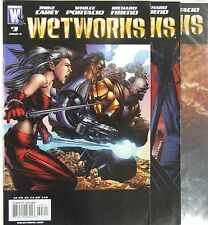 Wildstorm Comics Wetworks lot of 3.  Issues 3, 4, and 5.  Mike Carey story