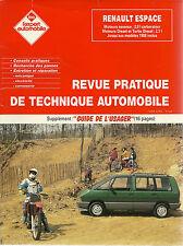REVUE TECHNIQUE EXPERT AUTOMOBILE  - RENAULT ESPACE