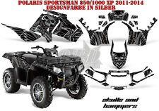 AMR Racing DECORO GRAPHIC KIT ATV POLARIS SPORTSMAN modelli SKULLS N Hammers B