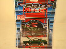 '67 FORD MUSTANG GT - with  Opening Hood 1:64 scale  by Maisto PRO TOURING