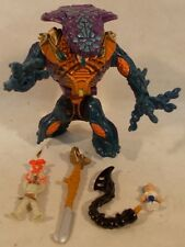 Mighty Max Battle Warrior Strikes Fang Pharoh King  100% Complete Bluebird