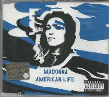 MADONNA - American life - CDs SINGOLO COVER BLUE SIG
