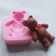 New Bear Theme Silicone Fondant Cake Chocolate Cookie Mold Cake Decor Craft Cute