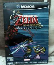 Nintendo Gamecube ZELDA 2 Disc Wind waker limited sleeve rare  complete