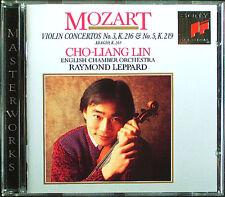 Cho-Liang LIN: MOZART Violin Concerto No.3 & 5 Raymond LEPPARD CD Violinkonzerte