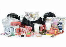 HURRICANE EMERGENCY DISASTER BUG OUT KIT- PREMIUM 4 PERSON GO BAG - 72 HOUR PACK