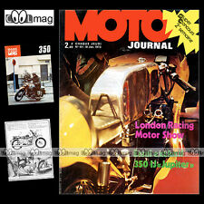 MOTO JOURNAL N°101 IJ JUPITER MONARK 125 BARRY SHEENE SEELEY CHOPPER TRIUMPH '73