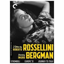 3 Films by Roberto Rossellini Starring Ingrid Bergman 5-DVD Criterion Collection