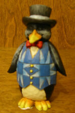 Jim Shore Heartwood Creek Minis #4021441 PENGUIN, New From Retail Store 3.5""