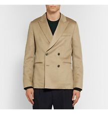 Beige Double-Breasted Cashmere Blazer--Paul Smith