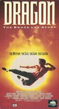 Dragon: The Bruce Lee Story VHS, 1993 The Mystery Life Love & Legend PG-13