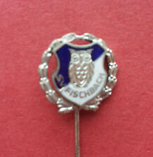 R* GERMANY SHOOTING BADGE PIN S. V. FISCHBACH OWL XF+ DETAILS
