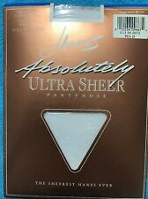 HANES Absolutely Ultra Sheer Pearl Style 707 Control Top Size D Pantyhose