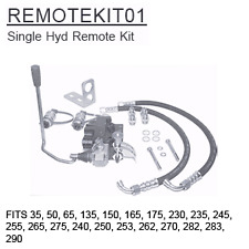 REMOTEKIT01 Massey Ferguson Parts Single Hyd Remote Kit 35, 50, 65, 135, 150, 16