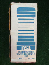 NSA Bacteriostatic Water Treatment Unit Filter Model 50C