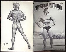 1963 gay art/graphics/photos Bob Mizer's Physique Tom of Finland/Gordon/Jones