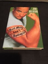 Signed Real Men Don't Apologize by Jim Belushi Hologram COA