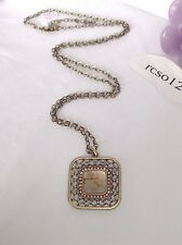 "Stunning Lia Sophia GALLERY Pendant Necklace, 34-37"", Vintage Glamour, NWT"