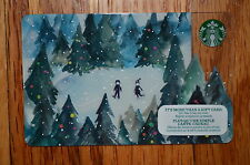 "Canada Series Starbucks ""FOREST SKATE 2015"" Gift Card - New No Value"