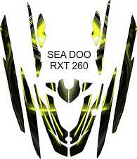 SEA DOO 260 RXT jet ski wrap graphics pwc stand up jetski decal kit 3