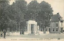 89 AVALLON MONUMENT A LA MEMOIRE DES VICTIMES DE LA GUERRE - ND