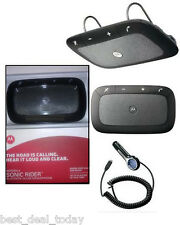 OEM Motorola Sonic Rider TX550 TX-550 Bluetooth In-Car Speaker Speakerphone