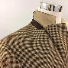 SALE! HACKETT $995 London Jacket 40R NEW $995 Wool Silk Tweed Mens 40 Brown