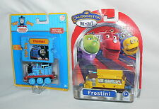 LOT LEARNING CURVE TAKE ALONG THOMAS + CHUGGINGTON FROSTINI TRAIN METAL DIE-CAST