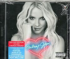 CD 14T INCLUS 4 TITRES BONUS BRITNEY SPEARS   JEAN DELUXE EDITION 2013