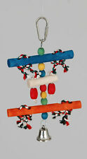 Caitec Corp Bars & Beads with Bell Small Bird Toy- Bulk Buy 350