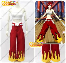 Fairy Tail Erza Scarlet Cosplay Costume red MM01