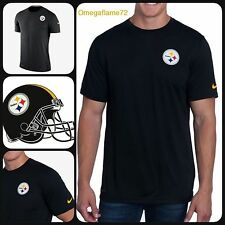 Nike NFL Pittsburgh Steelers Dri-fit Jersey Players On Field Stadium Tee Sz XXL