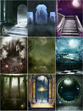 """GD Gothic Background/Backdrops Photography For 11-12"""" 1/6 SD DZ DOD AOD BJD Doll"""