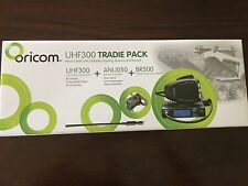 ORICOM UHF300 MICRO UHF RADIO 80 CH CHANNEL NEW TWO WAY CB 5W 5 WATT TRADIE PACK