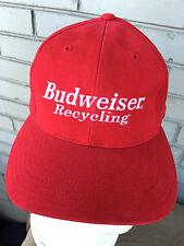Budweiser Recycling 1999 ISRI Anheuser Busch Baseball Cap Hat Strapback Beer